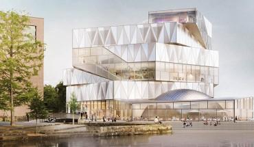 """Wettbewerbssieger: Entwurf von Sauerbruch Hutton für die Erweiterung des Science Centers """"Experimenta"""" in Heilbronn © Sauerbruch Hutton"""