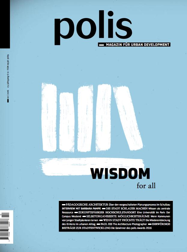 polis Magazin 2016/02: WISDOM for all