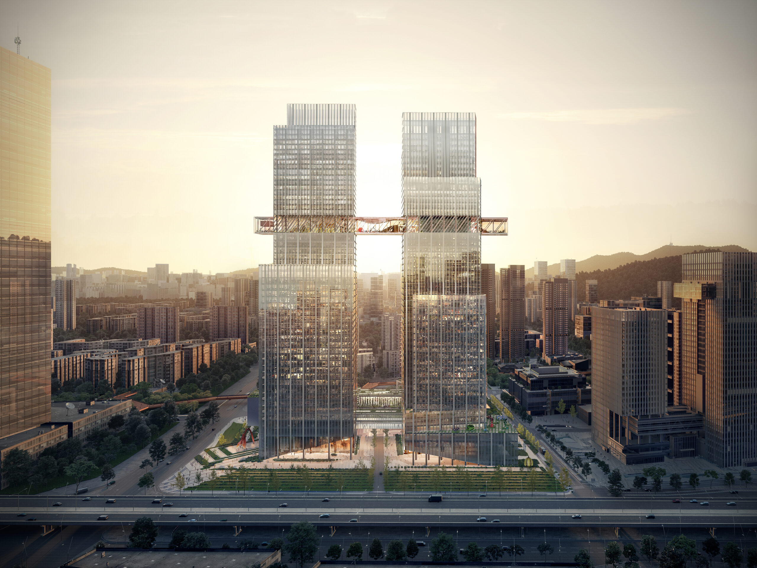 CMG Qianhai Global Trade Center © OMA