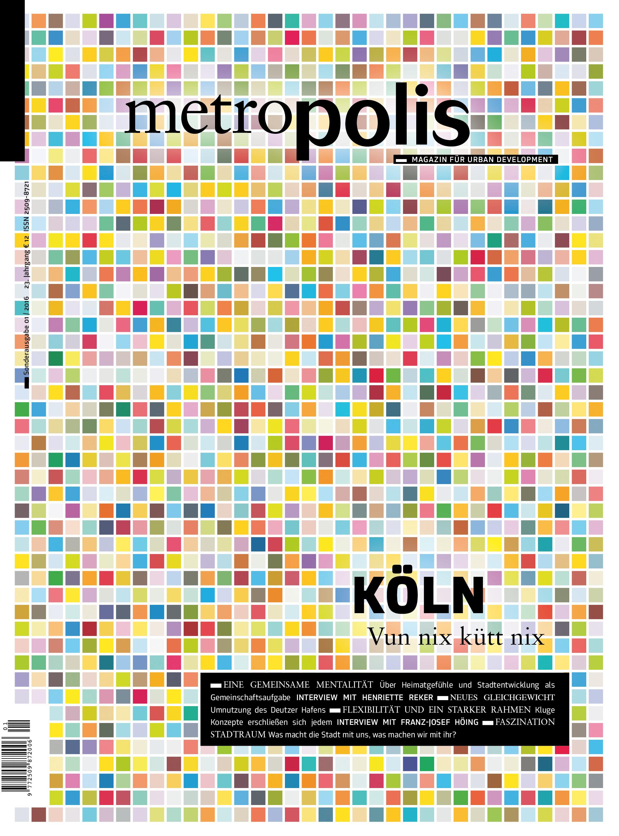 Sonderausgabe Köln | polis – MAGAZIN FÜR URBAN DEVELOPMENT